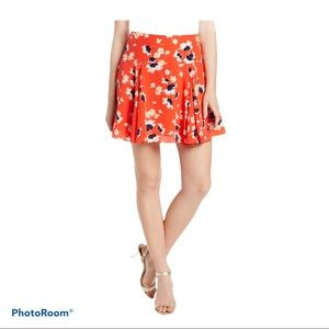Juicy Couture Women's Feathery Floral Skirt